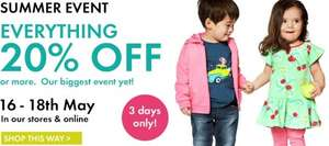 Polarn O Pyret  - 20% off everything 16th - 18th May 2014 in store & online
