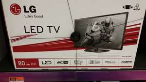 LG 32 inch LED TV Reduced £199.99 in store Sainsbury's