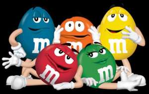1 kg of  M&Ms for £4.48 @ Costco