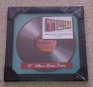 "12""  Album sleeve frame-Get your records (on the wall) £1.99 in home bargains"