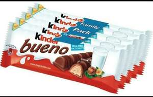 Kinder Bueno 5 pack x 2 for £3 (10 Singles) @ lidl