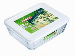 Pyrex Rectangular Dish with Plastic Lid 4 Litre - £5 @ Amazon (free delivery £10 spend/locker/Prime)