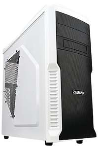 Zalman Z3 Plus ATX/M-ATX Tower Case (4 - 120mm fans included)  - White £31.99 @ amazon