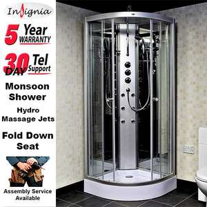 £688 Insignia GT842M Shower Non Steam Cabin Enclosure Cubicle inc installation & delivery @ mi-group /Ebay
