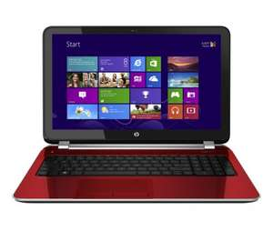 "HP Pavilion 15-n276sa 15.6"" Laptop - Red £399.99 @ currys"