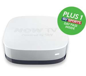 Currys Now TV smart TV box - free sports day pass / 30 day movies £14.99