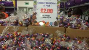 10 x creme eggs at in-store Cadbury (York) £2