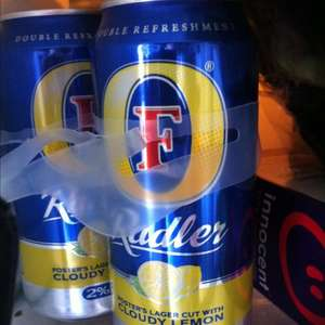 Fosters Radler 440ml cans x4 £1.99 at Home Bargains
