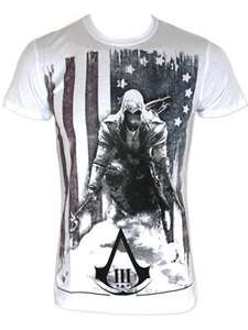 Assassin's Creed III Burned Flag Shirt XL - White £9.98 @ Amazon / Grindstore