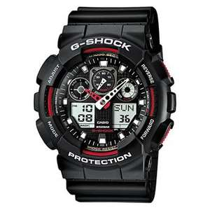 Casio Men's Combi Watch Ga-100-1A4Er with G-Shock Resin Strap for £51 and possible £40.80 with 20% off if you subscribe @ Amazon