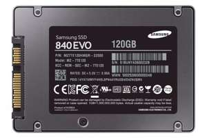 Cheapest ever @ amazon - Samsung 840 EVO 120 GB SSD £53.99 @ sold by amazon delivered