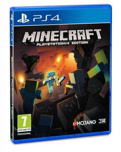 MINECRAFT - PS4 - £14.99 / PS VITA - £13.99 / PS3 - £12.99 @ amazon PM