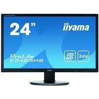 "Iiyama Prolite E2483HS-B 24"" Monitor £122.40 at Microdirect"