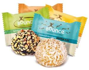 FREE Bounce Ball (Protein/energy ball, also gluten-free) via Facebook