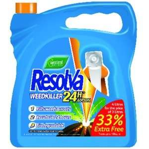 4 litres weed killer £10 at Wickes