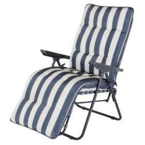Colorado Metal Relaxer Chair £10 this weekend at B&Q down from £35