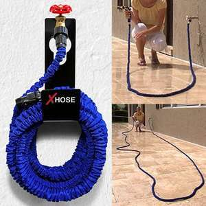 X-Hose Expanding Hose with Free 8 Spray Nozzle & Adapter £22.99 - £67.99 (Free Shipping) @ mirrorreaderoffers