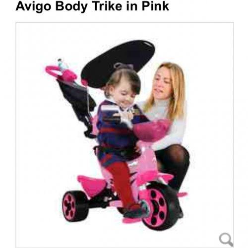 Avigo body trike £59.99 down from £119.99 @ Toys r Us