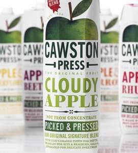 1L Cawston Press Apple Juice (Vintage and Cloudy) - 79p @ B&M