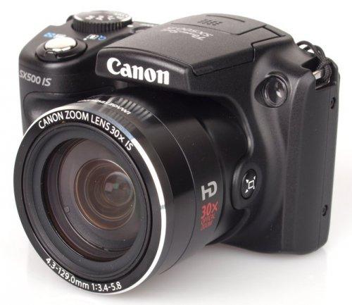 Canon PowerShot SX500 IS 16MP 30x Optical Zoom - Compact Camera - Black (Refurbished) - Canon Ebay - £102.94