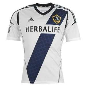 Men's Adidas LA Galaxy Home Shirt 2013 2014 £19.99 ONLY L, XL, 2XL available @ JJB Sports