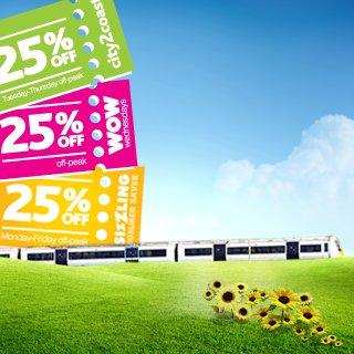 New c2c Rail online discount- sizzling summer saver