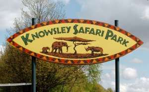 Knowsley Safari Park, HALF PRICE for family of 4 £29 with radiocity-offers