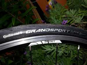 Two FREE Folding Continental Grand Sport Race Bicycle Tyres and tubes worth  £71.88!