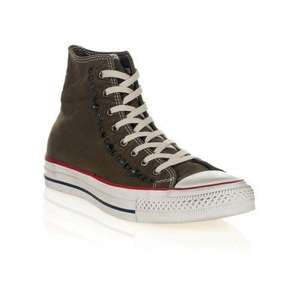 Converse Green Studded Hi-Top Trainers - Was £75 Now £22.50 plus £4.50 P&P - £27 - at Zee & Co