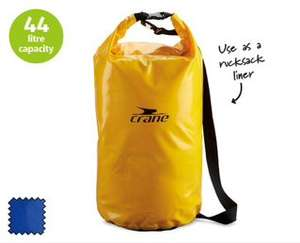 Dry bag for fishing, camping, kayaking etc £9.99 @ Aldi