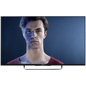 "Sony Bravia KDL50W8 (2014 model) LED HD 1080p 3D Smart TV, 50"" with Freeview/Freesat HD & 2x 3D Glasses (Black or Silver) with HT-CT60BT Bluetooth Sound Bar and 5 Years Guarantee now only £799.99 At Freemans Online"