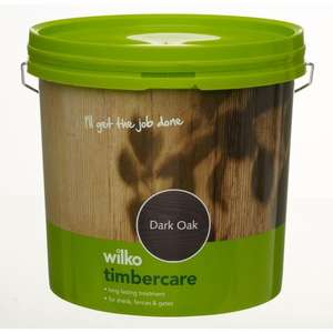 Wilko Timbercare/Fence Paint 5ltr - All varieties - £2 Also 5 KG BBQ brickquette instore and online from FRIDAY 23rd - MONDAY 26th