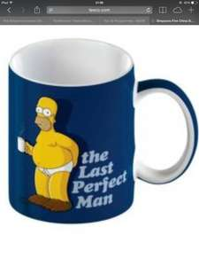 Homer Simpson mug (various designs)  half price in Tesco online and Instore just £1.25. Original price £2.50