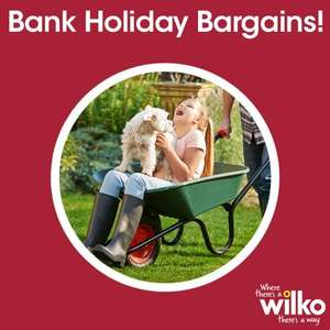 £2 bargain bank holiday deals @ Wilko from tomorrow details in first post