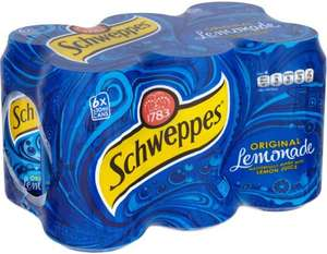 Schweppes Lemonade 6 x 330ml cans  £1.49 @ Morrisons