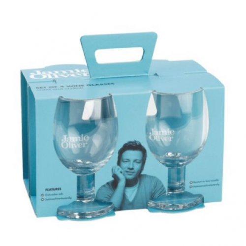 Jamie Oliver Set of 4 Red Wine Glasses £7.50 at tesco
