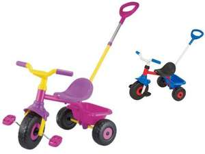 ** Evo Trike, Pink/Purple or Red/Blue now £10.00 @ Tesco Direct **