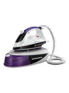 Russell Hobbs SlipStream 14863 - steam generator iron - stainless steel sole plate | Irons £45 @  ASDA direct