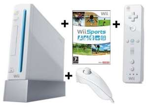 Pre-Owned Nintendo Wii (White) + Wii Sports £19.99 in-store @ Cash Generator