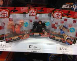 Disney Wreck it Ralph Mini Figures £1.99 @ Home Bargains