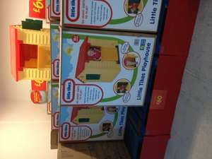 Little Tikes Playhouse £60 only Bank Holiday Special @ Asda