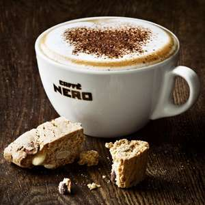 Free Caffe Nero hot drink every Friday @  Caffe Nero O2 Priority moment