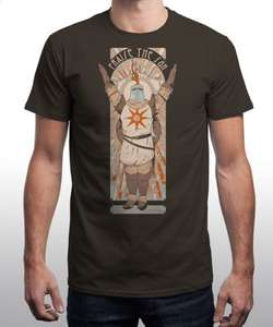 Dark Souls T-Shirt (Praise the Sun) £12.50 @ Qwertee