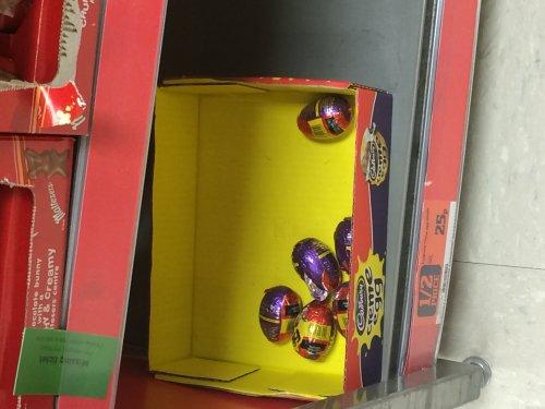 cadburys creme eggs 25p @ Sainsburys