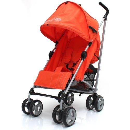 Zeta Vooom Pushchair & Raincover in Orange - £39.95 + £8.95 Delivery @ eBay (Baby-TravelUK)