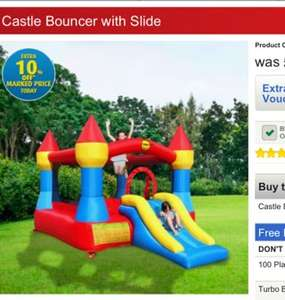 Duplay 12ft Bouncy Castle & Slide  £157.49 @ Smyths Toys