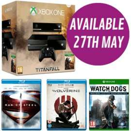 Xbox One Titanfall + Watch Dogs SE + 2 Blu-Rays £409.99 @ GAME