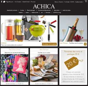American Express - £40 off a £90 spend at Achica (£20 voucher code plus £20 credit statement)