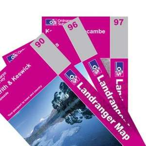 Lake District OS Landranger 3 map set - £13.63 delivered from dash4it