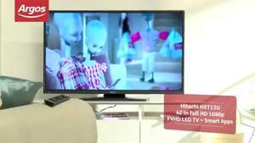 Hitachi HXT12U 42 In Full HD 1080p FVHD LED TV + Smart Apps - £279.99 @ Argos